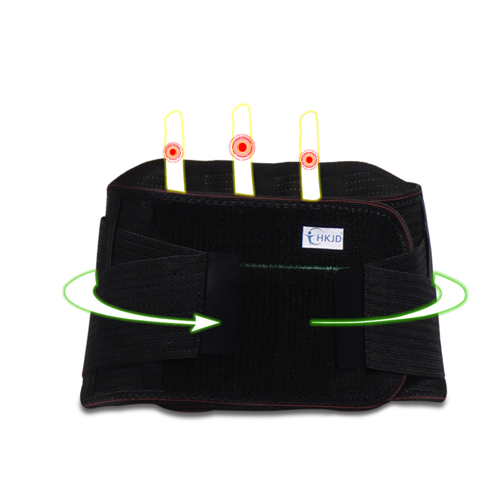 Adjustable Breathable Warm Tourmaline Self-heating Back Brace Waist Belt Spine Support Lumbar Back Support For Men Women цена и фото