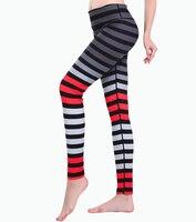 متعدد الألوان شريطية قمصان اليوغا اليوغا السراويل الرياضية الركض لاستعادة لياقته تجريب رياضة الرجل الجري الجوارب النساء xxl xxxl