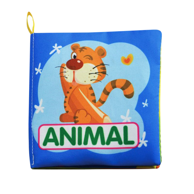 Soft Book Baby Toys Hot New Infant Kids Early Development Soft Cloth Books Learning Education Unfolding Activity Books