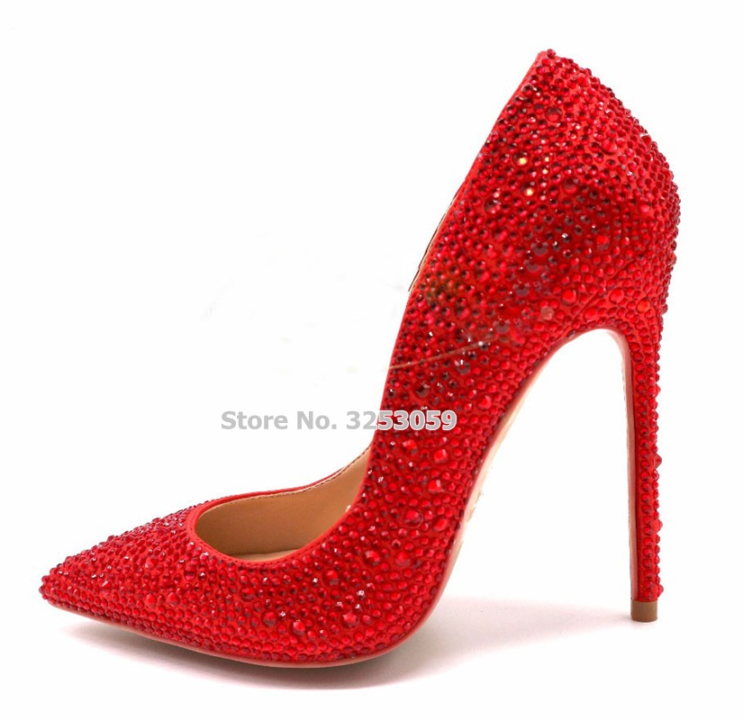 Pompes Mariage Rouge Almudena 8cm Picture red Crsytal As flat gold Heel Bout Parti Haute Silver Chaussures Profonde Strass pink 10cm Black Argent Picture Pointu Peu silver Bling Contact Contact Scintillant De Talon Picture customized Picture BrdoQWECxe