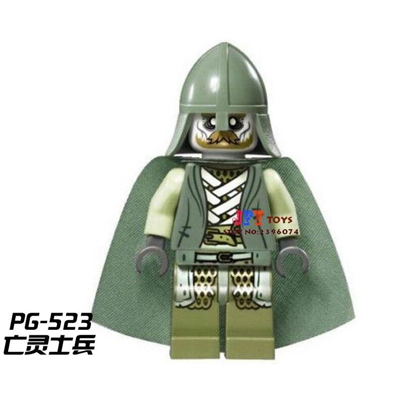 Single Sale star wars superheroHobbit Soldier of the Dead LOTR building blocks model bricks toys for children brinquedos menino