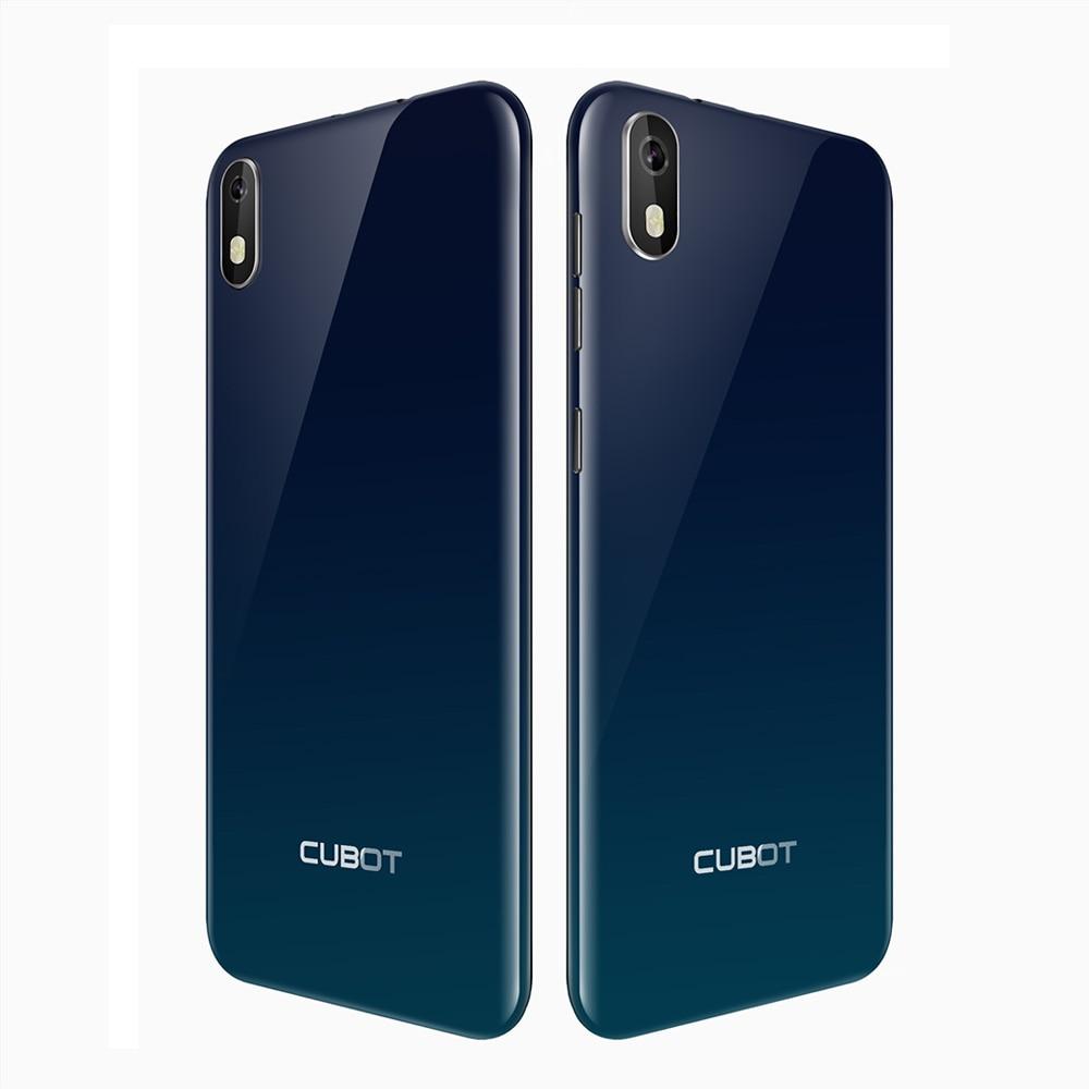 """Cubot J5 смартфон 5,"""" 18:9 полный Экран MT6580 Quad-Core Android 9,0 телефон 2 Гб Оперативная память 16 Гб Встроенная память Dual SIM карта - Цвет: Gradient"""