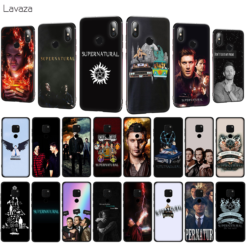 Lavaza Supernatural SPN tv Soft Phone Case for Huawei Mate 10 20 P10 P20 P30 Lite Pro P Smart 2019 TPU Cover image