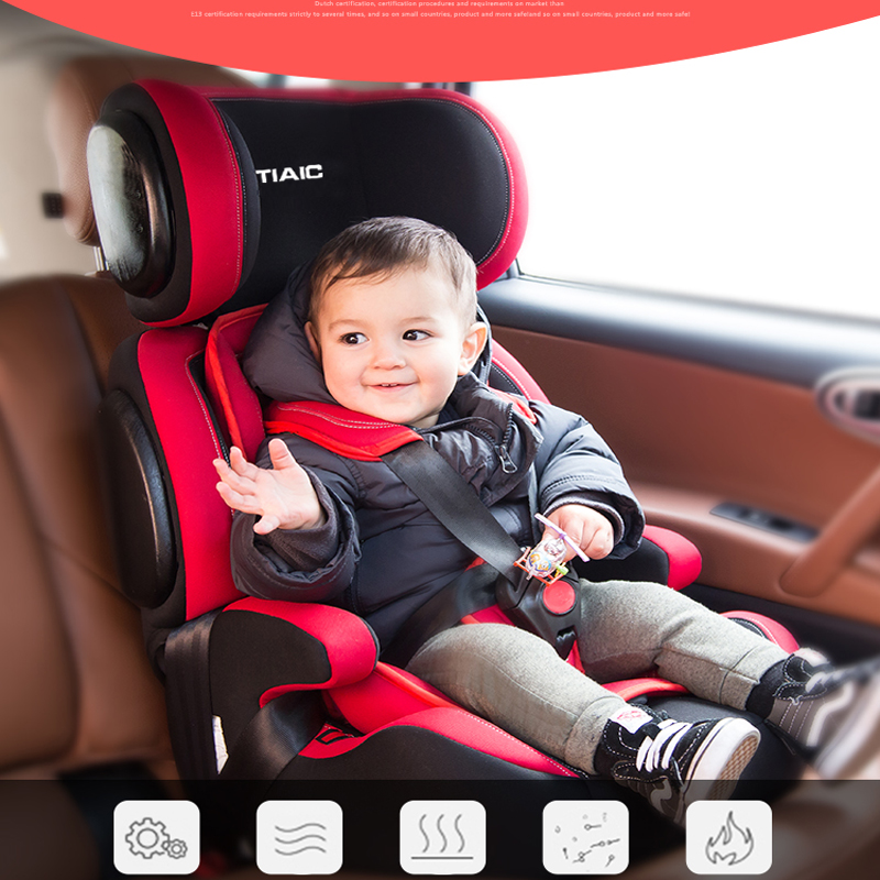 2016 New High Quality Child Safety Seat Car Seat Children's Chairs In The Car Updated Version Thickening Kids Car Seats