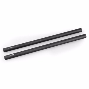 Image 2 - SmallRig 15mm karbon Fiber çubuk hassas hazırlanmış destek çubukları 12 inç uzun Dslr kamera omuz Rig sistemi 851 (2 adet paketi)