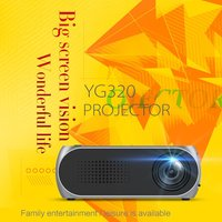 YG320 Mini Portable LED LCD Projector USB HDMI Home Theater Cinema 1080P Full HD Projector For Mobile Phone Multimedia Beamer