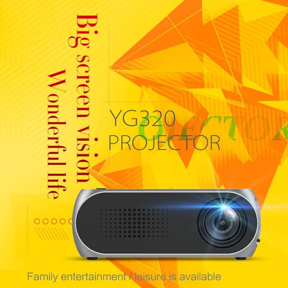 YG320 Mini Portable projecteur LED lcd USB HDMI Home cinéma cinéma 1080 P Full HD projecteur pour téléphone Portable multimédia projecteur