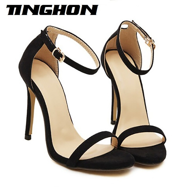 3ffb701fdfe8 New arrived Vogue 5 Color Summer women T-stage Classic Dancing High Heel Sandals  Sexy Stiletto Party wedding shoes free shipping