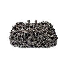 Luxus Metall Abend Kupplung Handtasche und Kleine Handtaschen für Frauen Luxus Blume Geldbörse und Abendtaschen