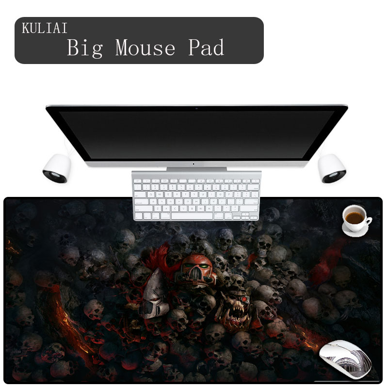 XGZ Warhammer 40k Precision Seam Rubber Non-slip Mouse Pad Game Laptop Notebook Player Mat Real People Fast Waterproof Splash