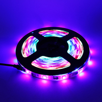 WS 2811 5050 LED Strip 5m Roll DC12V Waterproof Flexible LED Ribbon Light 30leds M Dream