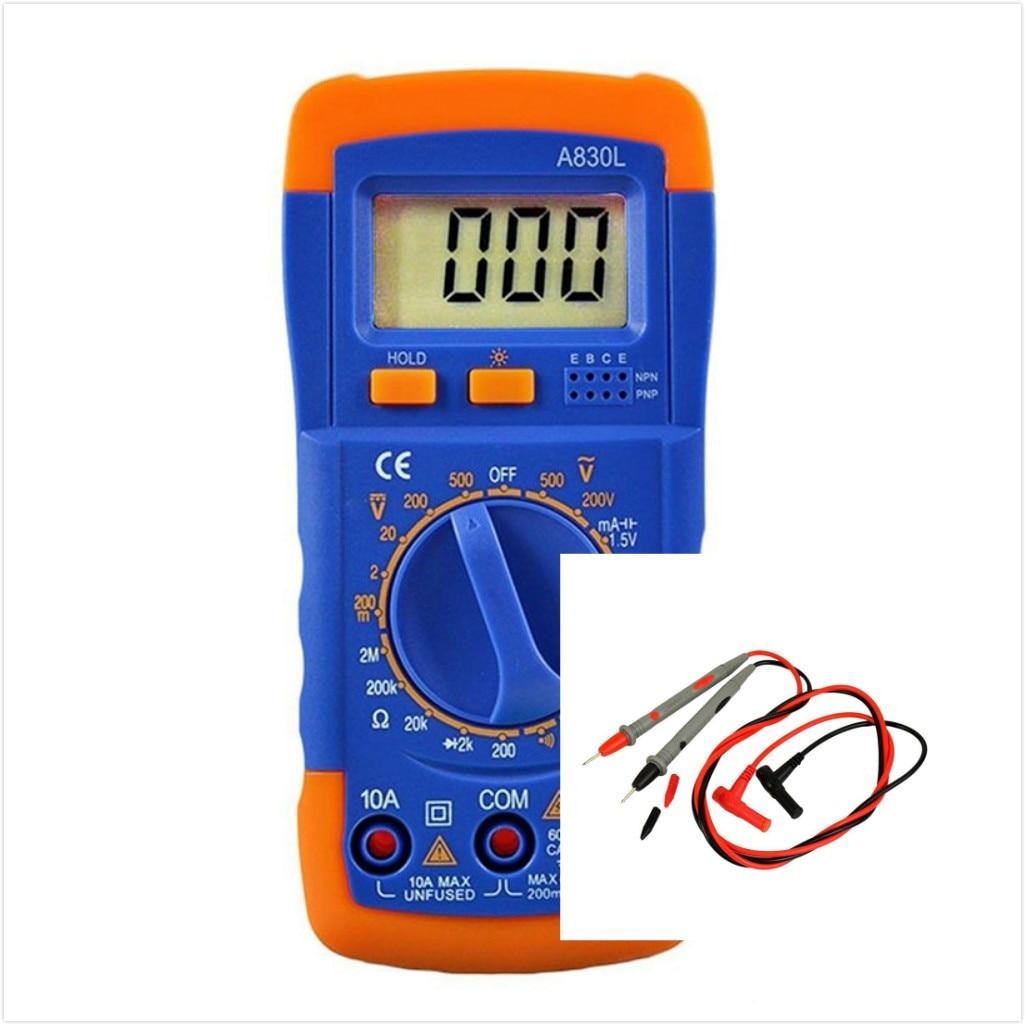 T8 A830L Digital LCD Handheld Multimeter M