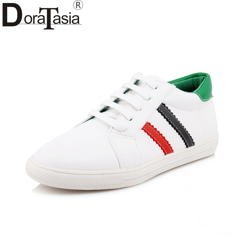DoraTasia Large Size 29-46 Spring good quality fashion sneakers Fashion Shoes Woman Leisure Brand New sales flats Shoes