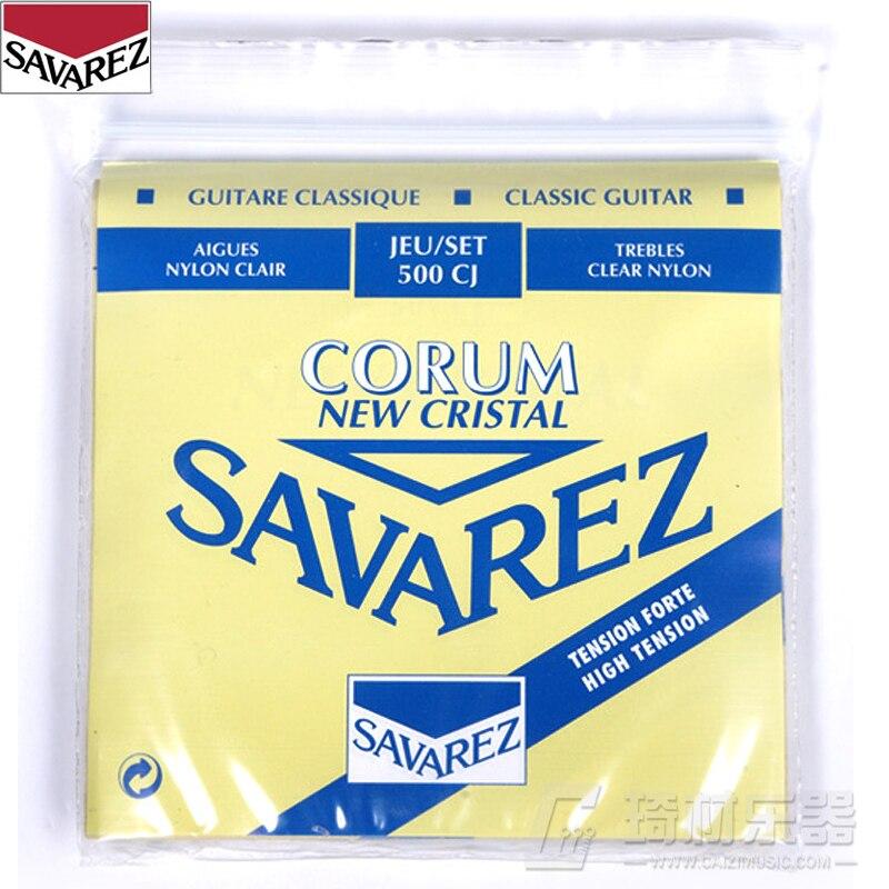 Savarez Classical Corum High Tension Set .029-.043 Classical Guitar String 500CJ