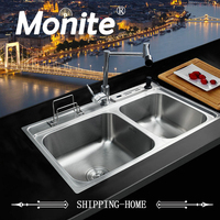 Yanksmart Bathroom Sink Faucet Torneira New Good Quality Stainless Steel Sink WashBasin Countertop SS 128528 4