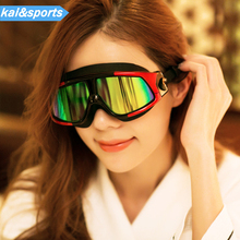 Fashion Swim Goggles Waterproof Swimming Glasses Mask UV HD Lenses women&men Spectacles