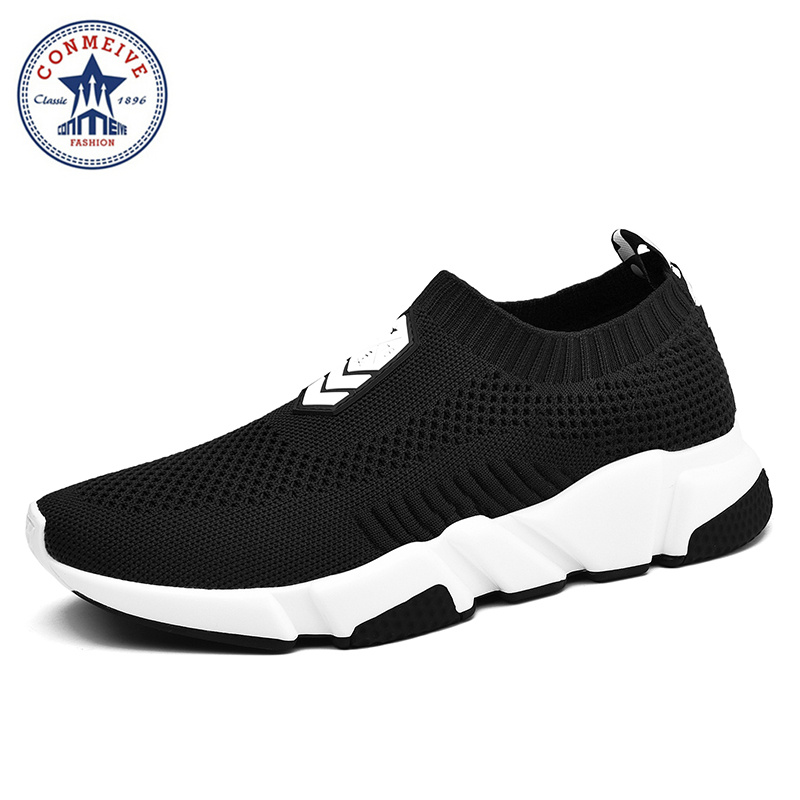 Lifestyle Running Shoes for Men Sneakers Sport Sneaker Masculino Esportivo Para Homens Slip-on Medium(b,m) Flywire New Arrival braun lifestyle
