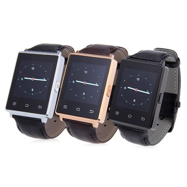 Смарт-часы № 1 D6 1 ГБ Оперативная память 8 ГБ Встроенная память MTK6580 Quad Core 1.63 дюймов Android 5.1 для Samsung Xiaomi Поддержка Health Monitor GPS WI-FI