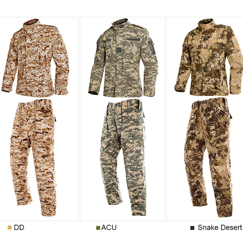 Military Hunting Clothes US Army Tactical Uniform Men Camouflage Suit Military Combat Uniform Set Shirt + Pants ACU Camo Clothin men combat field shirt long cargo pant hunting airsoft ghillie suit camouflage clothes military bdu tactical uniform set