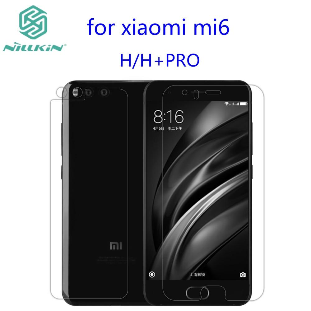 Pour xiaomi mi6 En Verre Trempé Nillkin Incroyable H/H + PRO Anti-Explosion Trempé Protecteur D'écran En Verre Pour Xiaomi 6 (5.15 pouce)