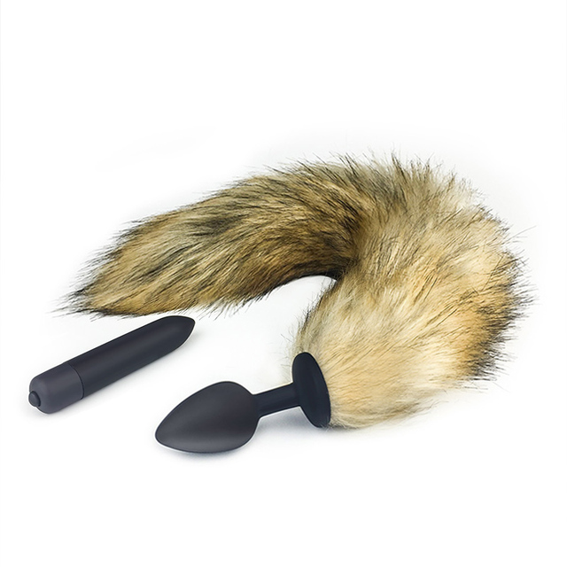 Silicone Anal Plug Fox Tail Sex Toys Vibrators For Women Intimate Goods Adult Toys Erotic Toys Masturbator Butt Plug Cork Anal