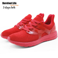 New Red Athletic Sport Running Shoes Woman And Man Breathable Comfortable Shoes Outdoor Walking Shoes Woman