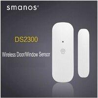 Chuango Smanos kablosuz Kapı/Pencere İletişim Sensörü ile 868 Mhz Chuango Smanos serisi Alarm sistemi ile çalışma