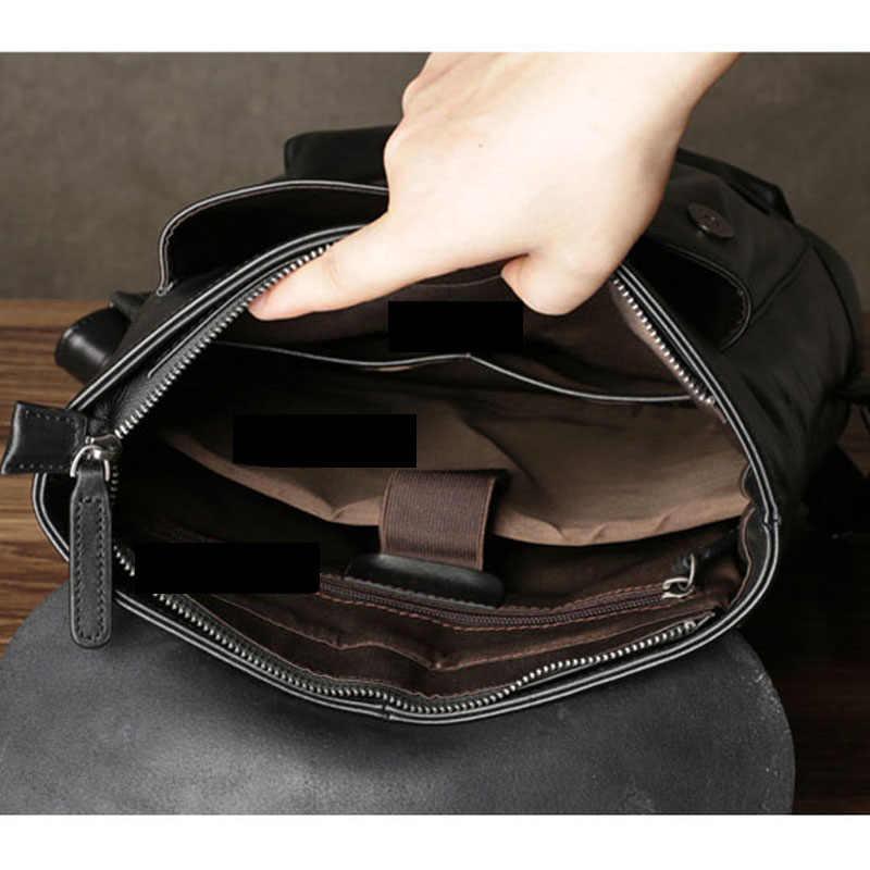 Aetoo новая кожаная сумка мужчины рюкзак головы слой кожи Япония и Южная Корея простой в духе колледжа досуг тенденция com