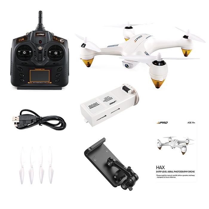 JJRC JJPRO X3 Professional RC Drone RTF WiFi FPV Brushless 1080P Full HD Detachable Camera GPS Positioning RC Quadcopter Hubsan