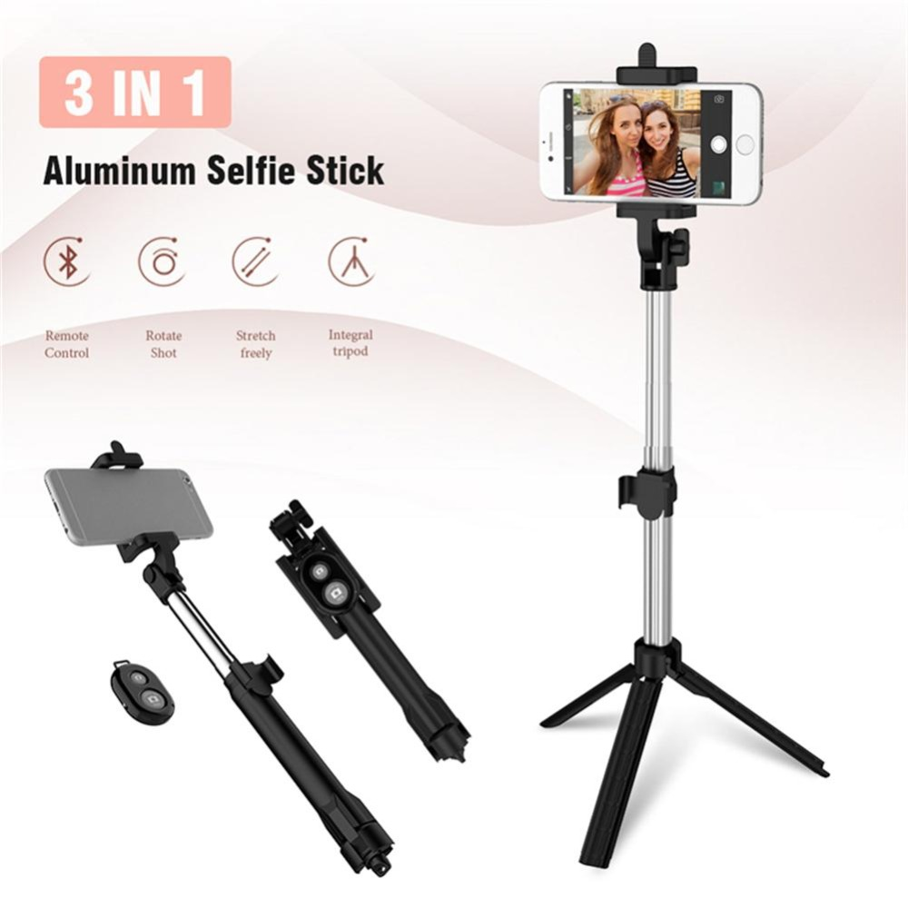 KPFLY Selfie Stick Tripod Monopod Bluetooth With Button Remote Control Selfie Stick for iPhone 6 7 8 Plus Android stick цена