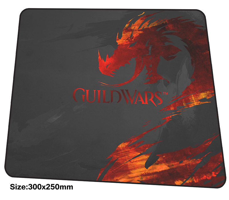 guild wars mouse pad 300x250mm mousepads best gaming mousepad gamer HD print large personalized mouse pads High quality pc pads