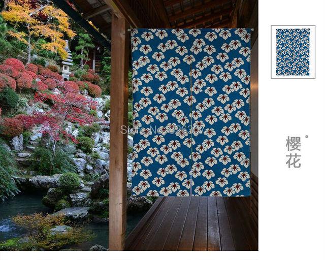 Taiwan japan stijl chinese lsakura oosterse cherry doek curtain home ...