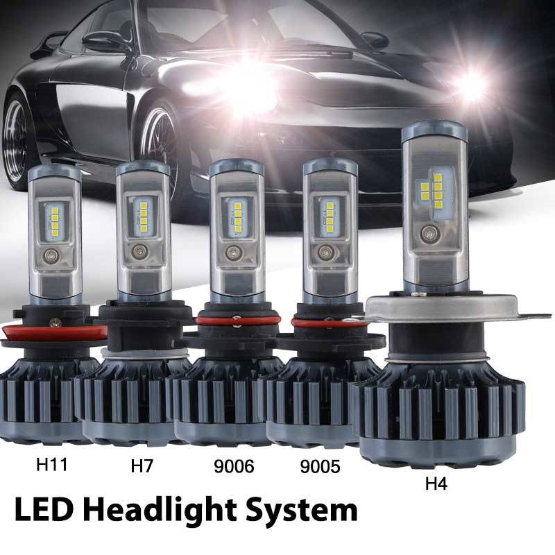 Auto Led Light H4 H11 H7 9006/HB4 9005 Car Driving Fog Lights 60w 12000lm Headlights Led 12V 6000k White Car Light Bulbs pu leather universal car seat cover for toyota corolla camry rav4 auris prius yalis avensis 2014 sticker accessories car styling