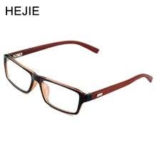 Homem Mulher TR90 & Madeira Armações de óculos de Miopia Óculos de Armação Full Frame óculos de Armação de Acetato Templo de Madeira 4 Cores Tamanho 53-18-131 Y1012