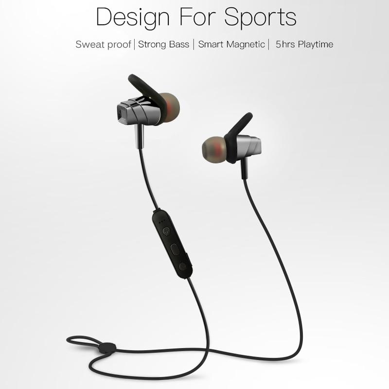 Joyone Magnetic Wireless Headphone Bluetooth BT 4.2 Earphone Headphone For Smart Phone Neckband Sport Earphone Auriculare CSR