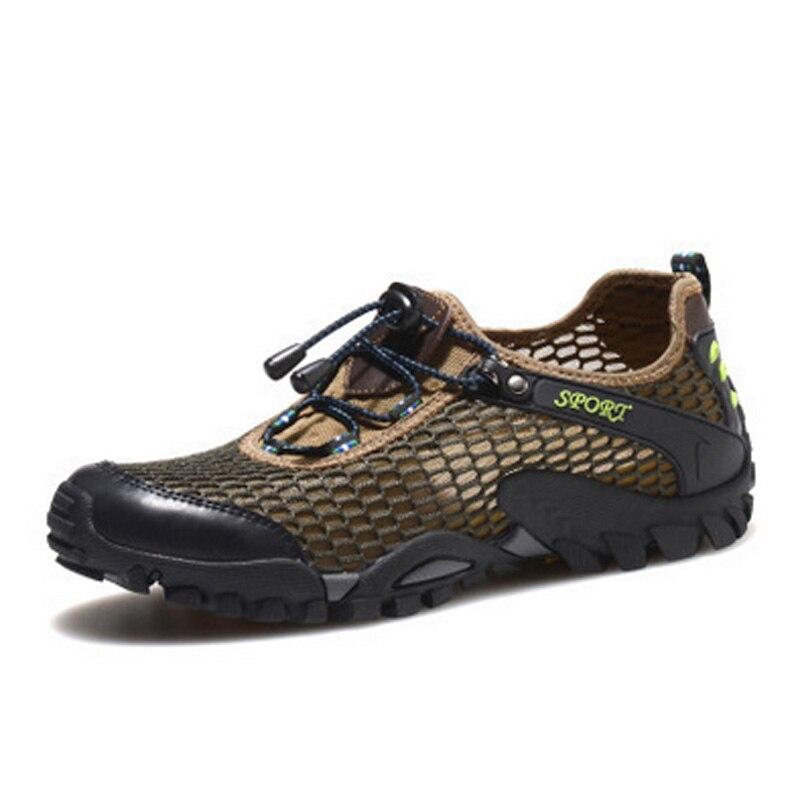 Hombres Transpirable Deporte Al Aire Libre Zapatos Para Caminar de Verano Ultra-