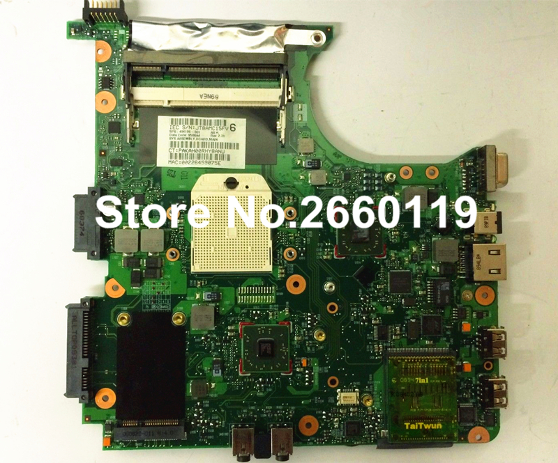 ФОТО laptop motherboard for HP 6535S 6735S 494106-001 system mainboard fully tested and working well