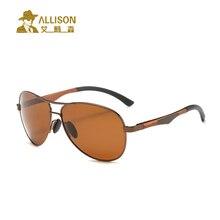 allison A161 Hot Sale men's aluminum-magnesium car drivers night vision goggles anti-glare polarizer sunglasses Polarized Drivin