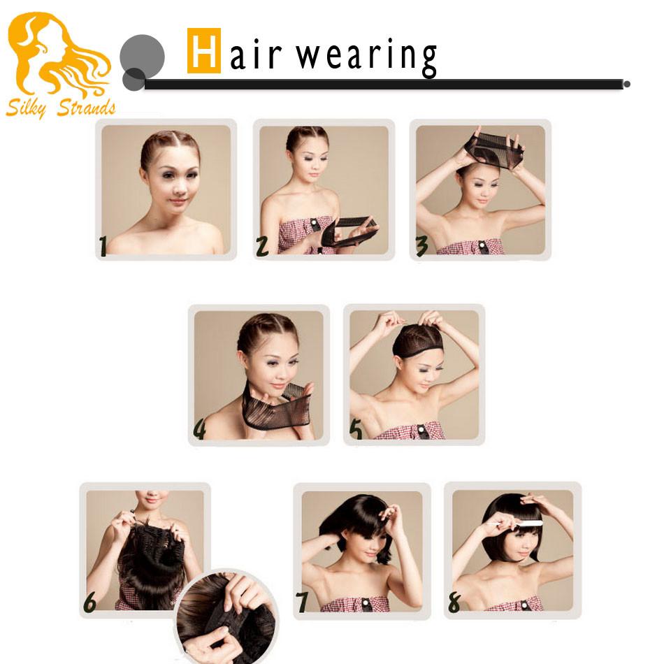 hair wearing