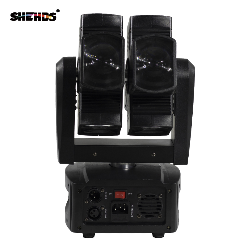 SHEHDS Stage Light DMX LED 8x10W RGBW 4in1 շարժվող - Կոմերցիոն լուսավորություն - Լուսանկար 5