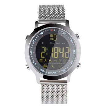 Cawono EX18 5ATM Waterproof Smart Watch Pedometer Tracker Call reminder Bluetooth 4.0 Wristwatch SmartWatch for IOS Android