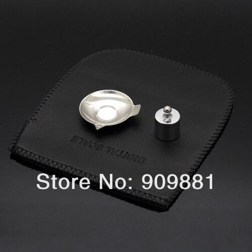 0.001g 50g numérique poche bijoux diamant échelle LCD Portable milligramme/gramme alimentaire régime cuisine balances pesage mesure Balance - 2