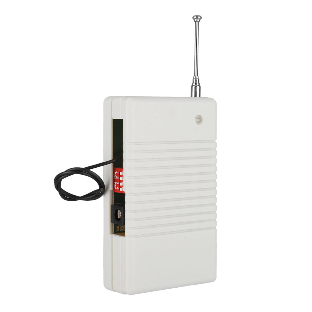 433MHZ Wireless Signal Repeater Transmitter Signal Repeaters With Power Adapter For Security Alarm System US Plug