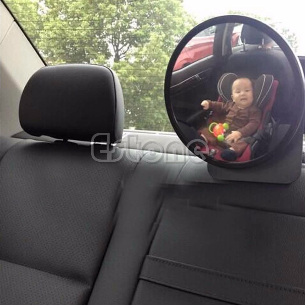 2018 New Universal Infant Car Safety Seat Inside Mirror View Back Rear Ward Facing Care ...