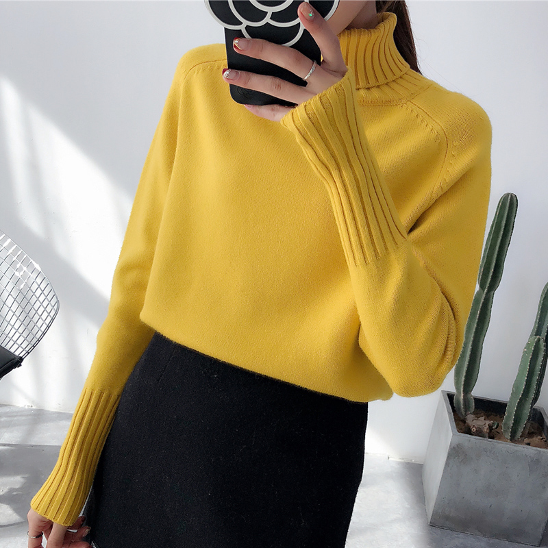 Las mujeres suéter suéteres nuevo 2019 de moda Otoño
