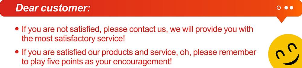 4. Dear customer