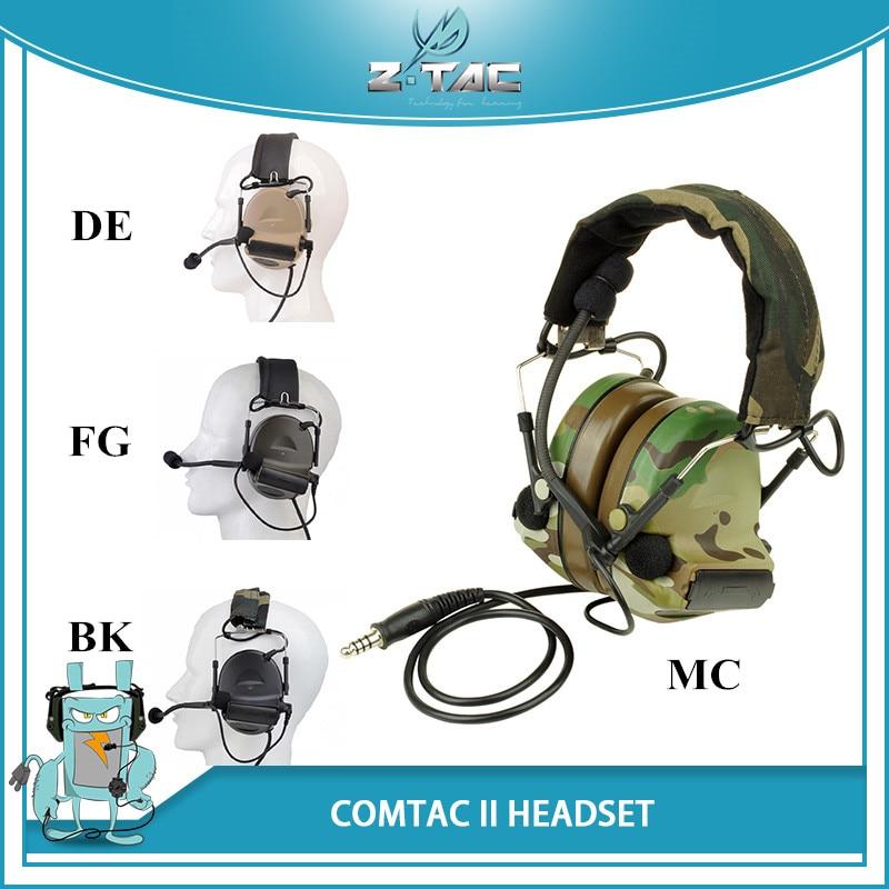 все цены на Z-Tactical Aviation headphone Comtac II C2 Headsets Noise Canceling Earphone Airsoft Paintball Microphone Hunting Headphone Z041 онлайн