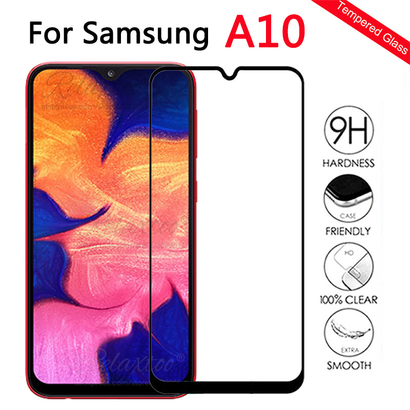 Protective Glass For <font><b>Samsung</b></font> <font><b>A10</b></font> <font><b>case</b></font> on For <font><b>Samsung</b></font> Galaxy <font><b>A10</b></font> A105F Tempered Glass a 10 sm-A105F A105 Protection <font><b>case</b></font> couqe 9h image