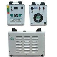CW3000 промышленных воды сигнализации чиллер Co2 лазерной трубки кулер для CO2 лазерной гравировки, резки с ЧПУ шпинделя УФ лампы бусинами