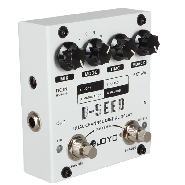 JOYO D-SEED Four Modes Mono Dual Channel Digital Delay Guitar Effect Pedal seed dormancy and germination